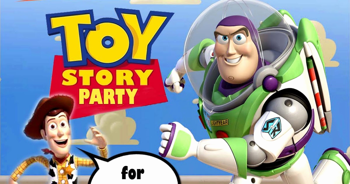 Toy Story Invitation Template Download Elegant Free Kids Party Invitations toy Story Party Invitation