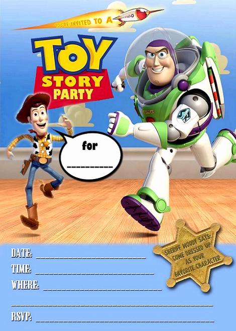 Toy Story Invitation Template Download Inspirational Invitaciones Cumpleaños Disney