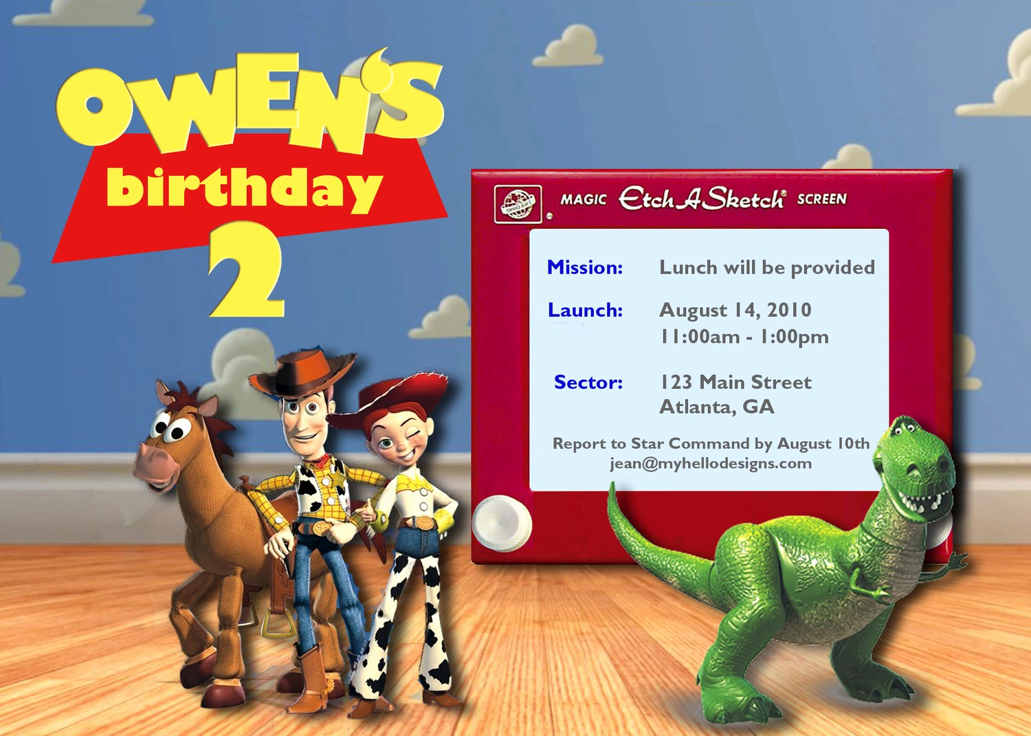 Toy Story Invitation Template Download Luxury toy Story Invites Templates Free