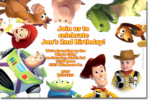 Toy Story Invitation Template Free Awesome toy Story 4 Birthday Party Invitations Candy Wrappers