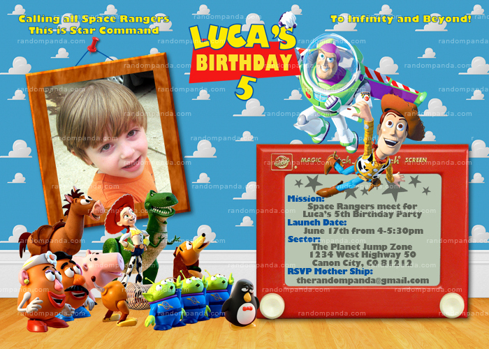 Toy Story Invitation Template Free Beautiful toy Story Party Package Buzz Lightyear Woody Jessie