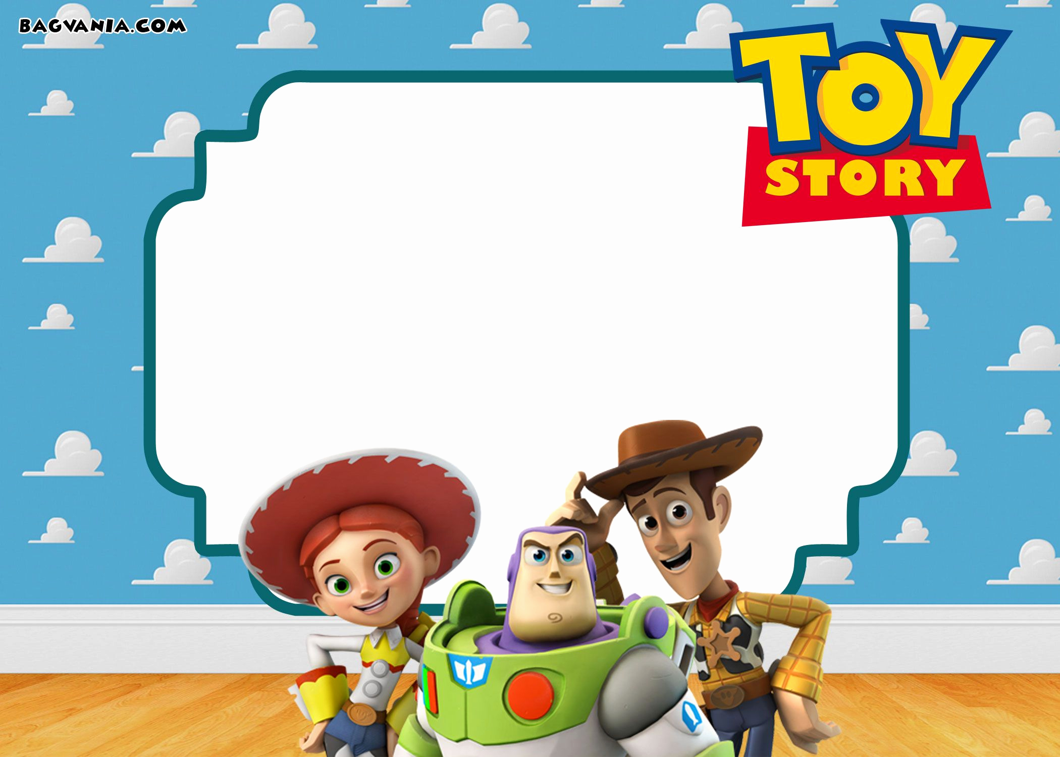 Toy Story Invitation Template Free Lovely Free Printable toy Story 3 Birthday Invitations