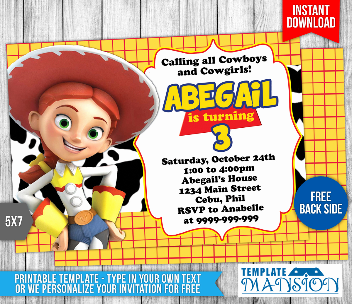 Toy Story Invitation Template Free New toy Story Birthday Invitation Template 5 by