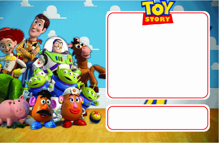 Toy Story Invitation Template Lovely Download now Free Printable toy Story Birthday Invitation