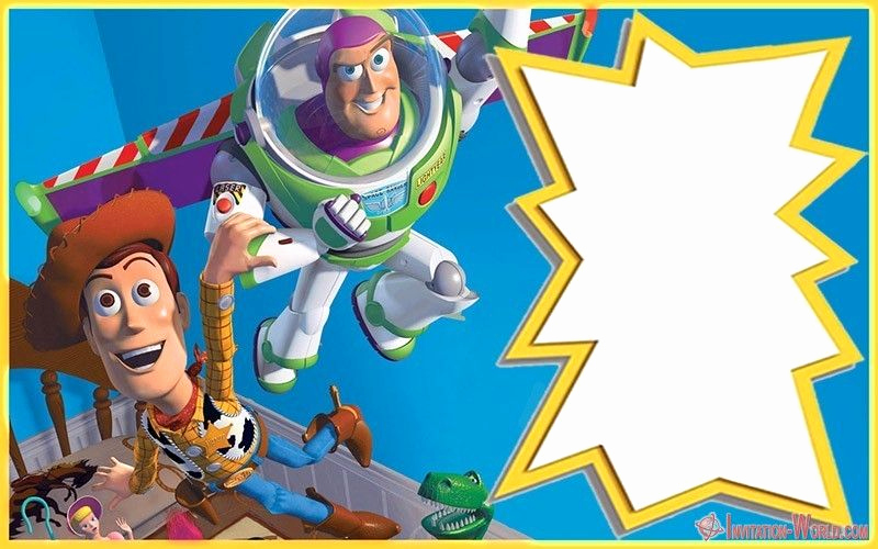 Toy Story Invitation Template Lovely toy Story Invitations – Free Download