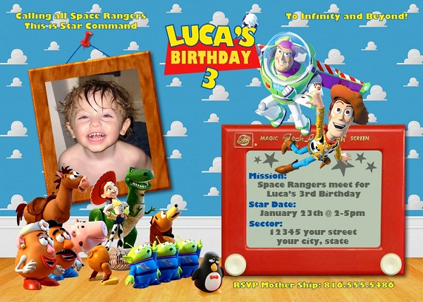 Toy Story Invitation Templates Awesome toy Story Birthday Party Invitation Ideas – Free Printable