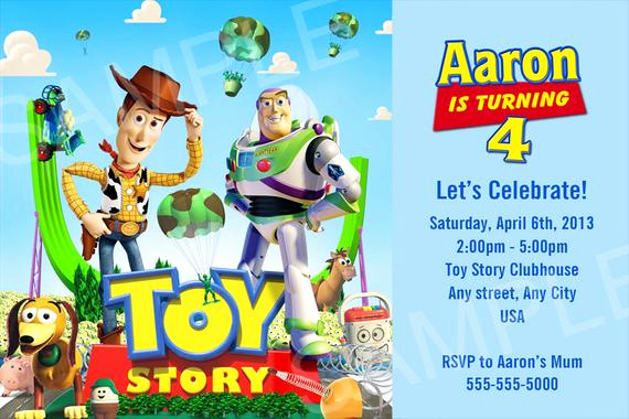Toy Story Invitation Templates Awesome toy Story Invitation Printable toy Story Birthday Invitation