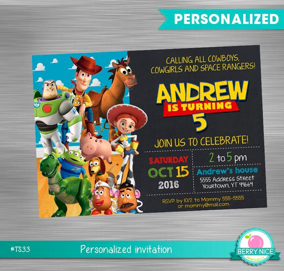 Toy Story Invitation Templates Best Of toy Story Invitation Diy toy Story toy Story Printable
