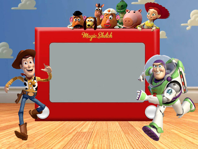 Toy Story Invitation Templates Free Awesome Snips & Spice August 2012