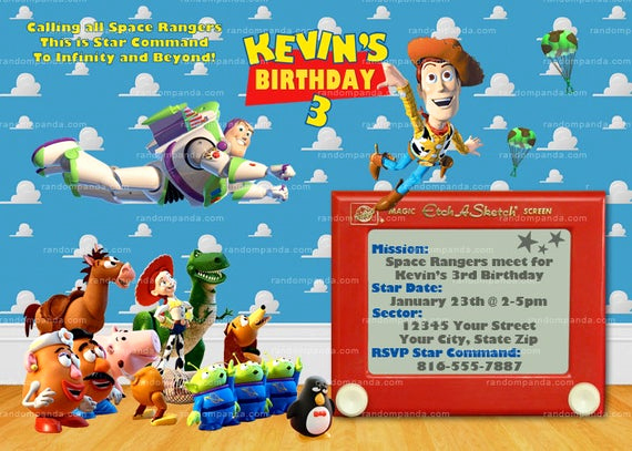 Toy Story Invitation Templates Free Beautiful Printable toy Story Invitation Buzz Lightyear Invitation toy