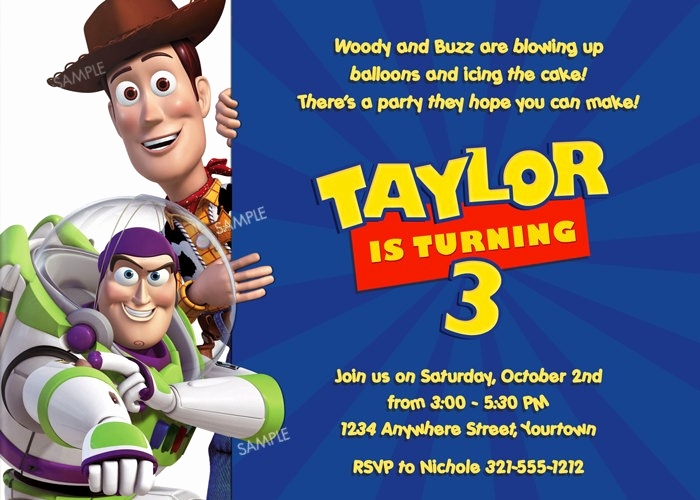 Toy Story Invitation Templates Free Lovely 15 Helpful toy Story Birthday Party Ideas for Planning