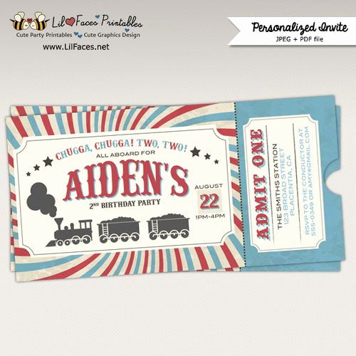 Train Ticket Birthday Invitation Awesome Best 25 Train Tickets Ideas On Pinterest