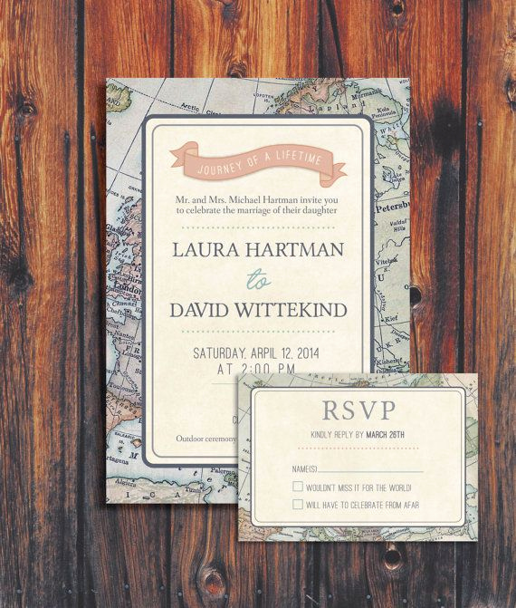 Travel theme Wedding Invitation Awesome 17 Best Images About A Journey On Pinterest