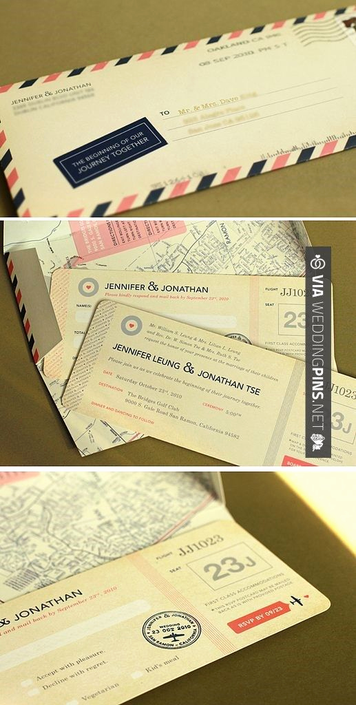 Travel theme Wedding Invitation Awesome Idee Invitations Pour theme Voyage