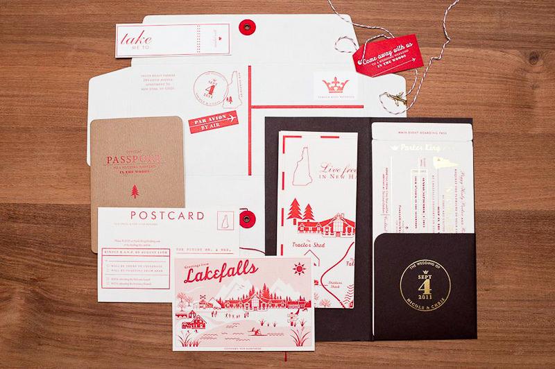 Travel theme Wedding Invitation Fresh Nicole Chris S Modern Travel Inspired Wedding Invitations