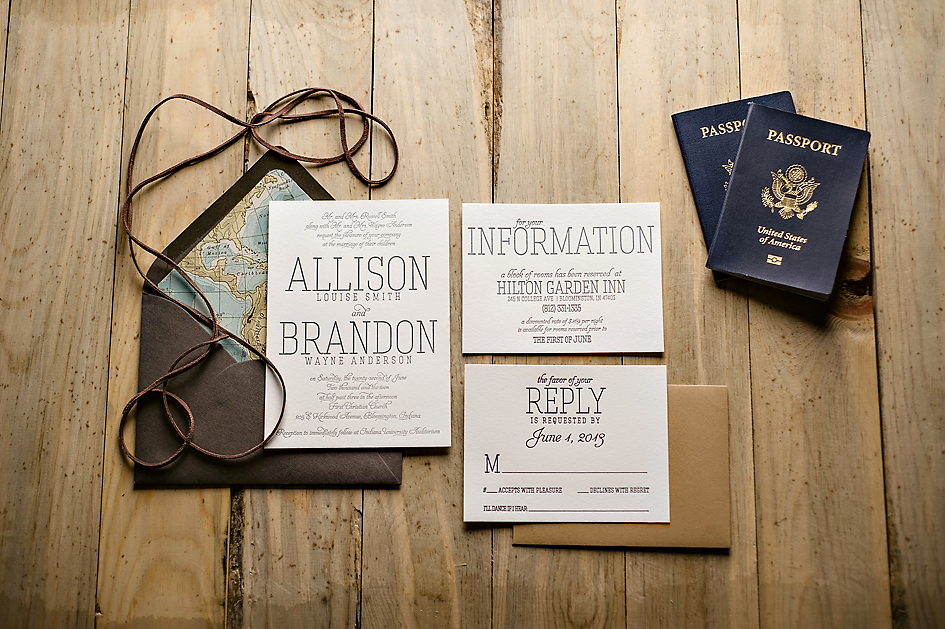 Travel theme Wedding Invitation Lovely the Callie Suite S A Travel Inspired Treatment