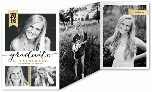 Tri Fold Graduation Invitation Best Of 17 Best Ideas About Senior Announcements On Pinterest