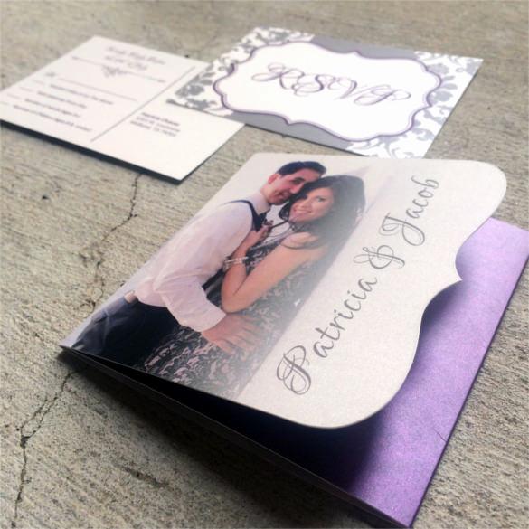 Tri Fold Graduation Invitation Templates Beautiful 19 Trifold Wedding Invitation Templates – Free Sample