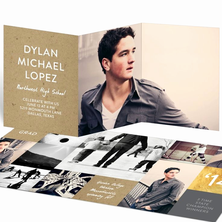 Tri Fold Graduation Invitation Templates Beautiful 774 Best Images About Paper On Pinterest