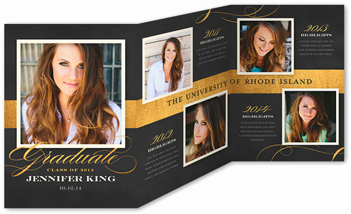 Tri Fold Graduation Invitation Templates Beautiful Religious Graduation Announcements & Graduation
