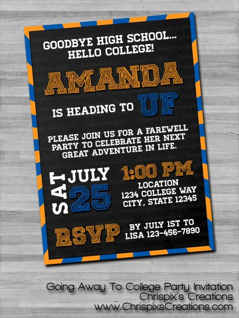 Trunk Party Invitation Templates Lovely top 25 Best College Graduation Announcements Ideas On