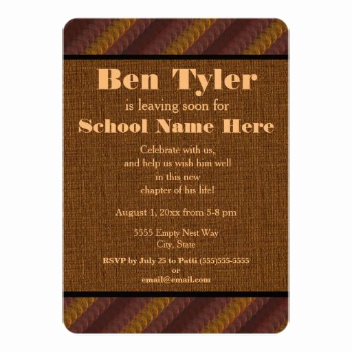 Trunk Party Invitation Wording Elegant 32 Best Matt S College Send Off Party Images On Pinterest
