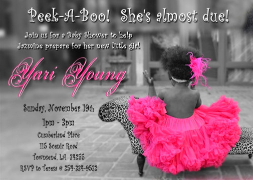 Tutu Baby Shower Invitation Wording Awesome Baby Shower Invitation Digital File Tutu and Leopard or