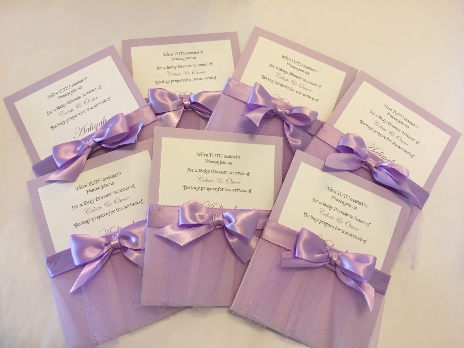 Tutu Baby Shower Invitation Wording Elegant Tutu Baby Shower Invitations Set Of 10
