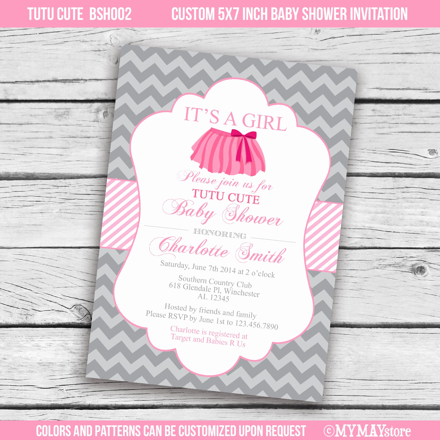 Tutu Baby Shower Invitation Wording Fresh Unavailable Listing On Etsy