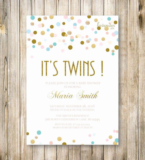 Twin Baby Shower Invitation Ideas Best Of 17 Best Ideas About Twin Baby Showers On Pinterest