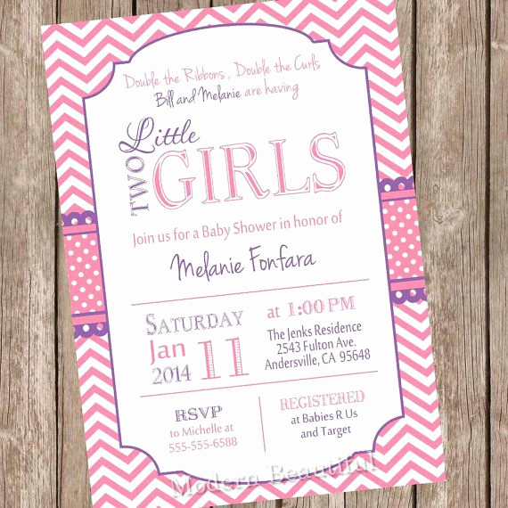 Twin Baby Shower Invitation Wording New 29 Best Images About Joint Baby Shower Invites On