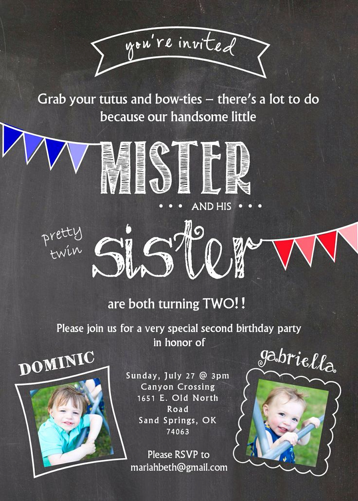 Twins Birthday Invitation Wording Inspirational 25 Best Ideas About Twins 1st Birthdays On Pinterest