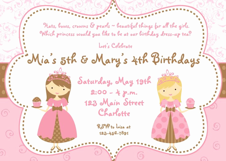 Twins Birthday Invitation Wording Unique 3rd Birthday Party Invitation Wording