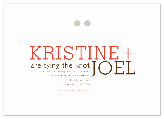 Tying the Knot Invitation Elegant Wedding Invitations Tying the Knot at Minted