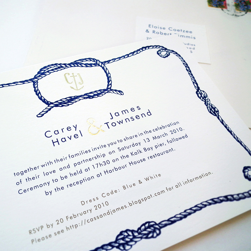 Tying the Knot Invitation Luxury Illustrated Wedding Invitations From Me E