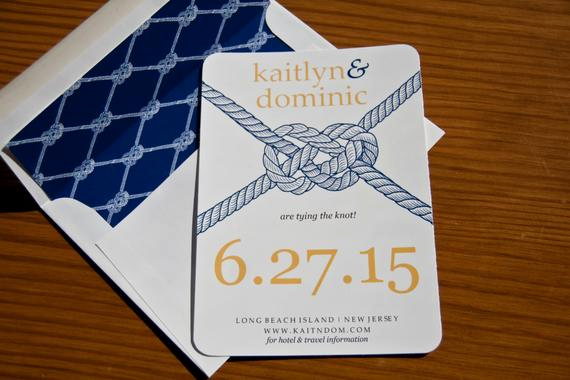 Tying the Knot Invitation New Tying the Knot Save the Date