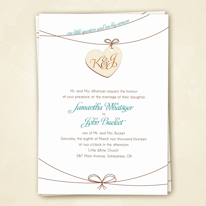 Tying the Knot Wedding Invitation Lovely Tie the Knot Wedding Invitation Set by Sparkmyminddesigns