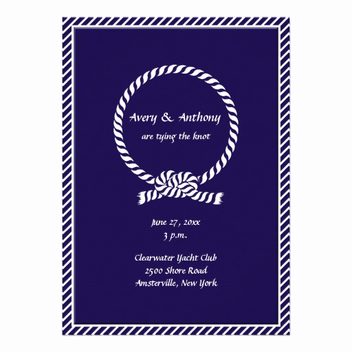 Tying the Knot Wedding Invitation Lovely Tying the Knot Invitations 2 800 Tying the Knot