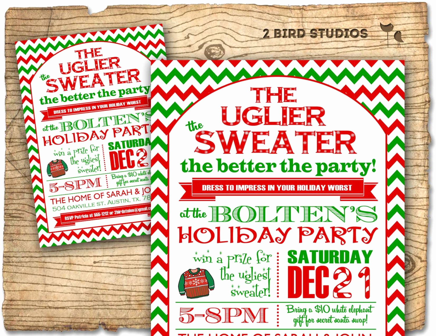 Ugly Christmas Sweater Invitation New Christmas Party Invitation Ugly Sweater Holiday Party