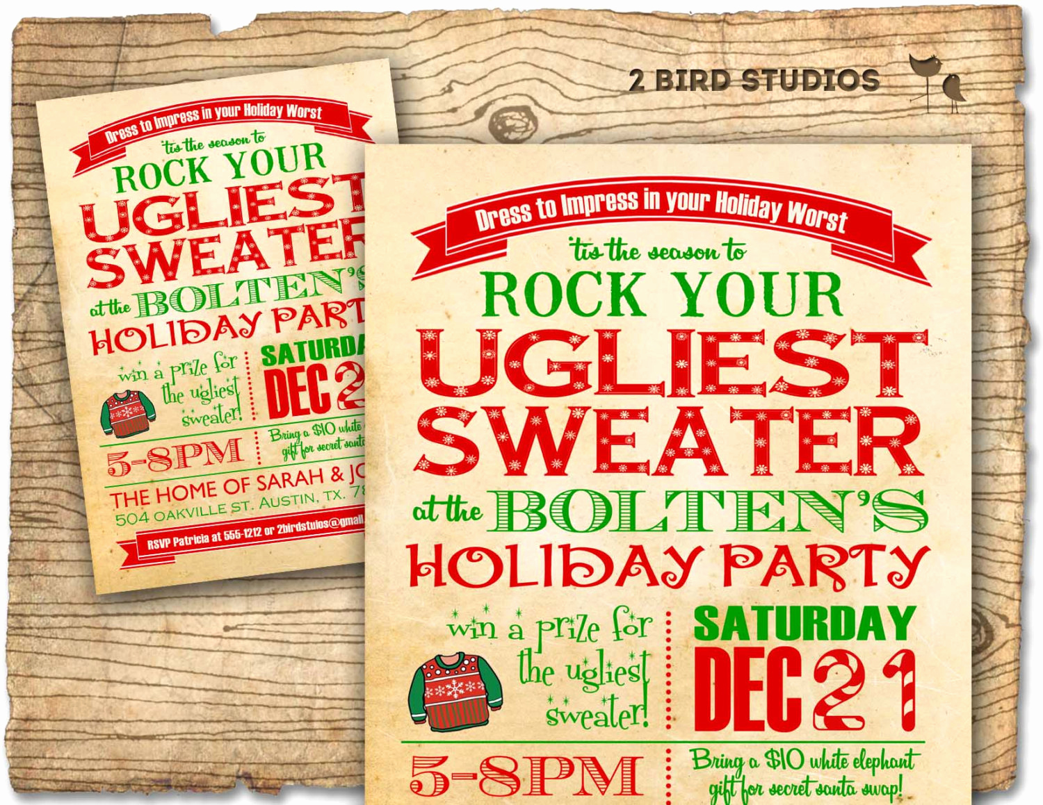 Ugly Sweater Christmas Party Invitation Inspirational Holiday Party Invitation Ugly Sweater Christmas Party