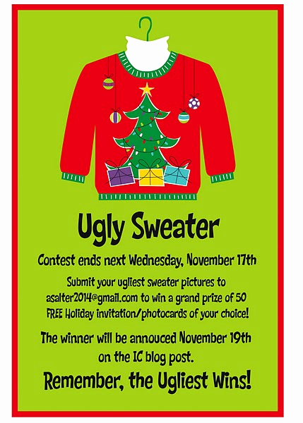Ugly Sweater Contest Invitation Best Of Contest Win Free Holiday Invitations Photocards From