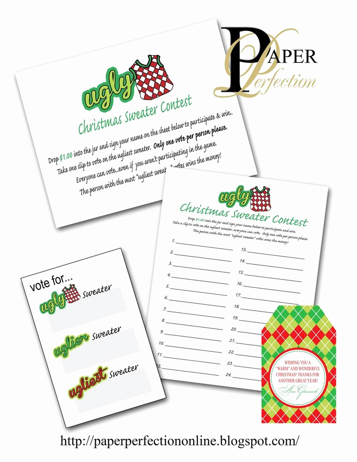 Ugly Sweater Contest Invitation New 38 Best Invitations for An Ugly Christmas Sweater Party