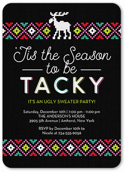 Ugly Sweater Invitation Ideas New How to Plan A Christmas Party