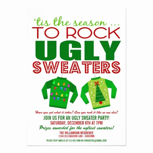 Ugly Sweater Invitation Template Best Of 17 Images About Christmas Holiday Party Invitations On