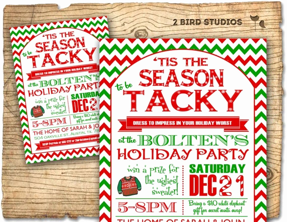 Ugly Sweater Invitation Template Unique Christmas Party Invitation Ugly Sweater Party Invitation