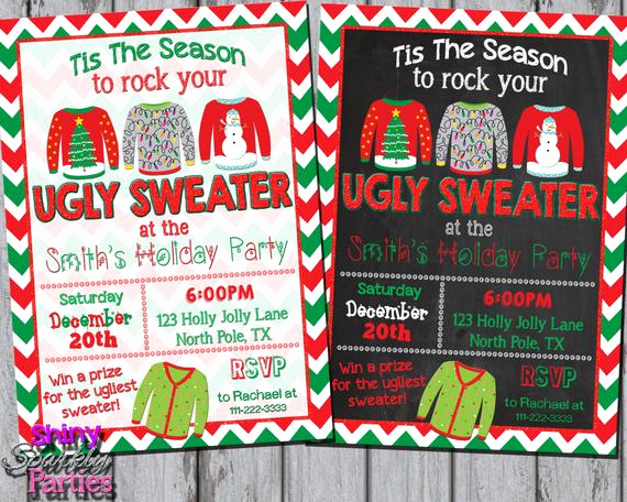 Ugly Sweater Party Invitation Free Beautiful Ugly Sweater Invitation Ugly Christmas Sweater Party Invite