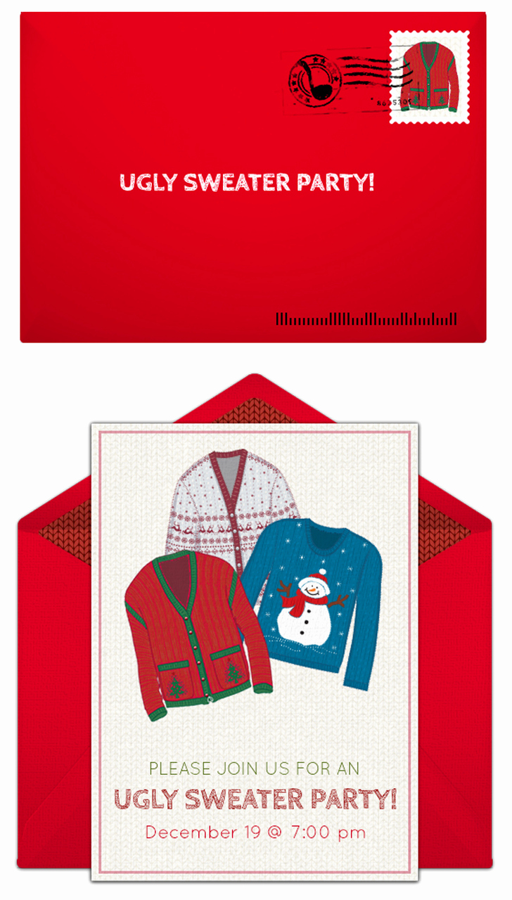Ugly Sweater Party Invitation Free Lovely Ugly Christmas Sweater Party Ideas