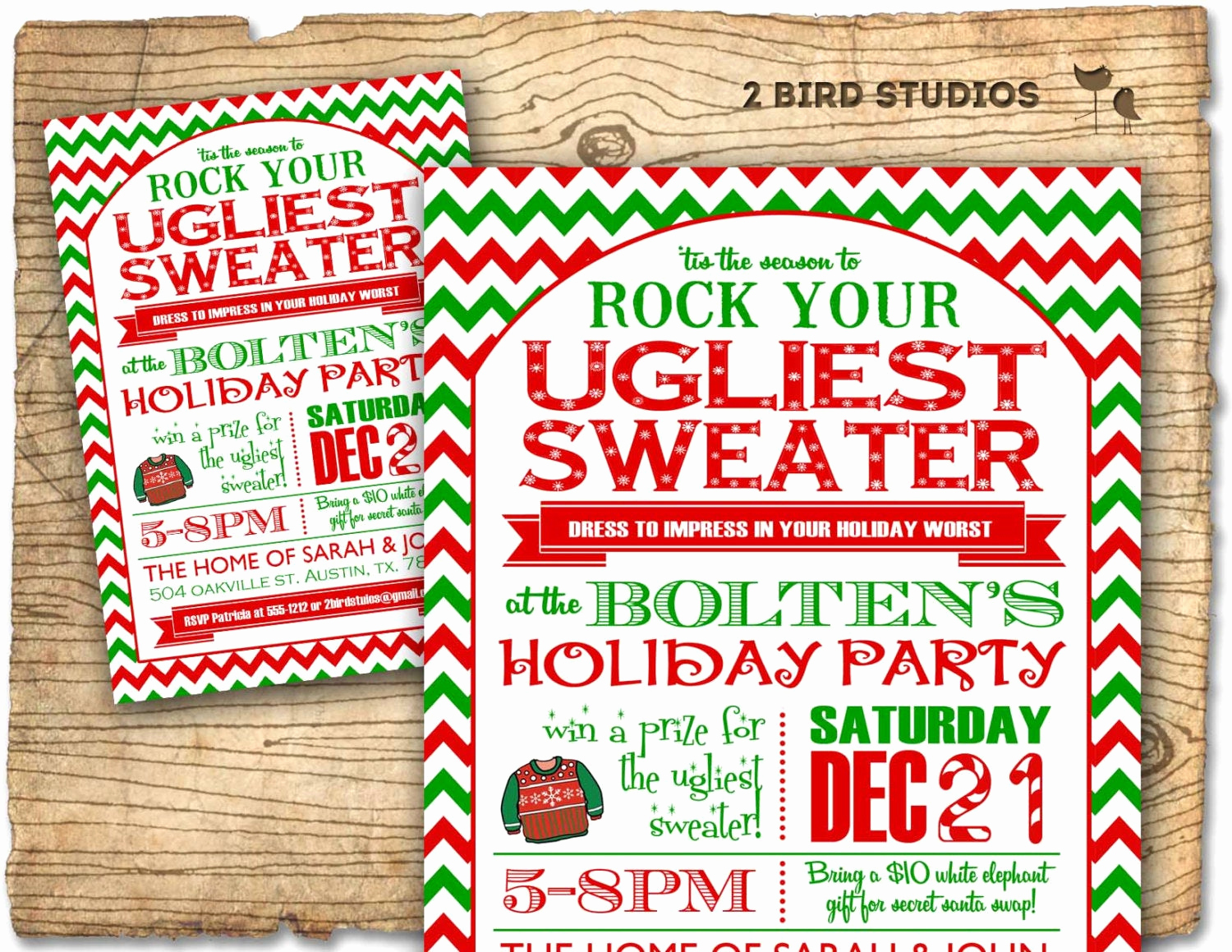 Ugly Sweater Party Invitation New Christmas Party Invitation Ugly Sweater Party Invitation