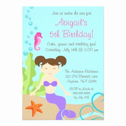 Under the Sea Invitation Wording Fresh Under the Sea Birthday Invitations
