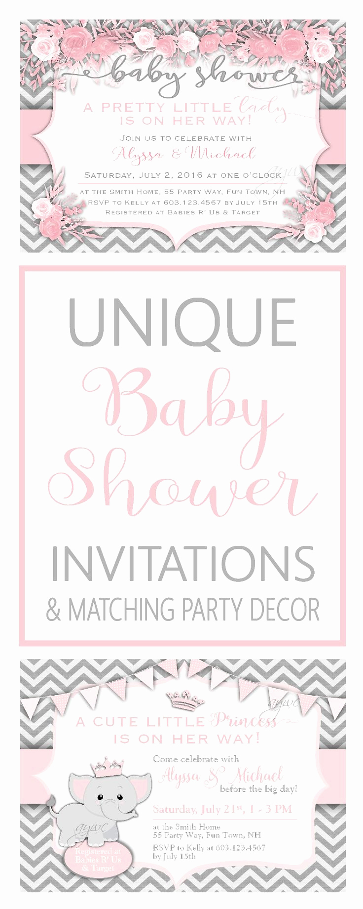 unique baby shower themes